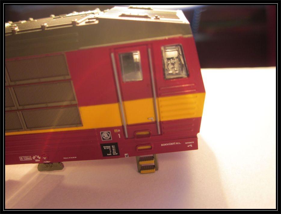 Osazený řídící pult v modelu 163