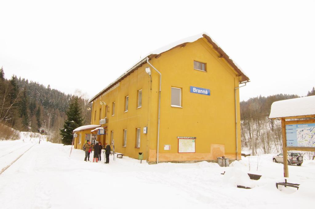 Staniční budova Branná