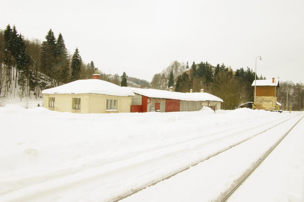 Vodárna železniční stanice Branná