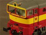 Model lokomotivy Brejlovec