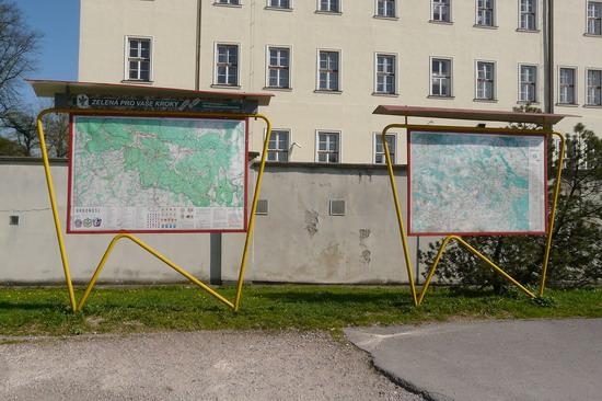 Originál mapy - foto Michal Bednář