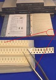 Sady SMD součástek HC Electronics
