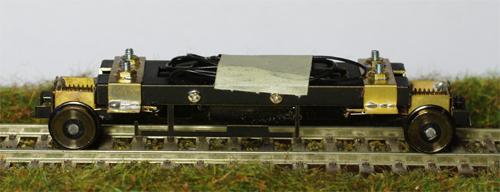 Pojezd motorového vozu M131 v měřítku H0