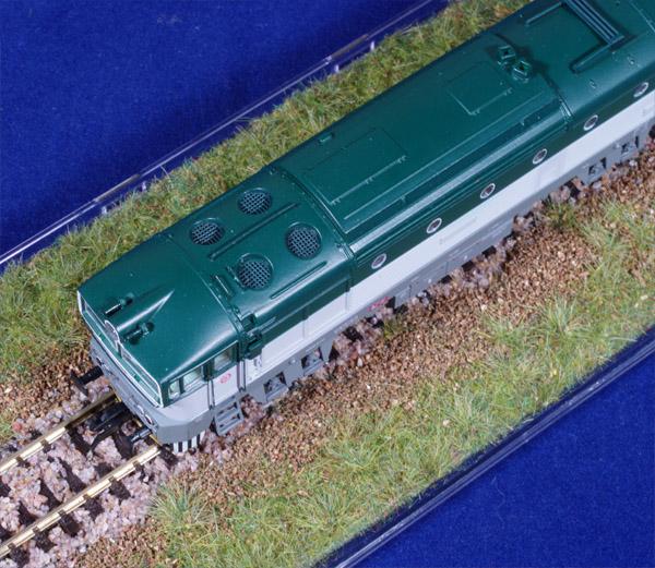 Brejlovec ČD - model lokomotivy řady 753 od fy. MTB