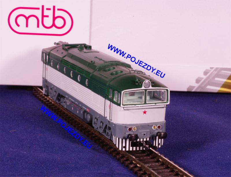 Model od firmy MTB - T478 v měřítku TT