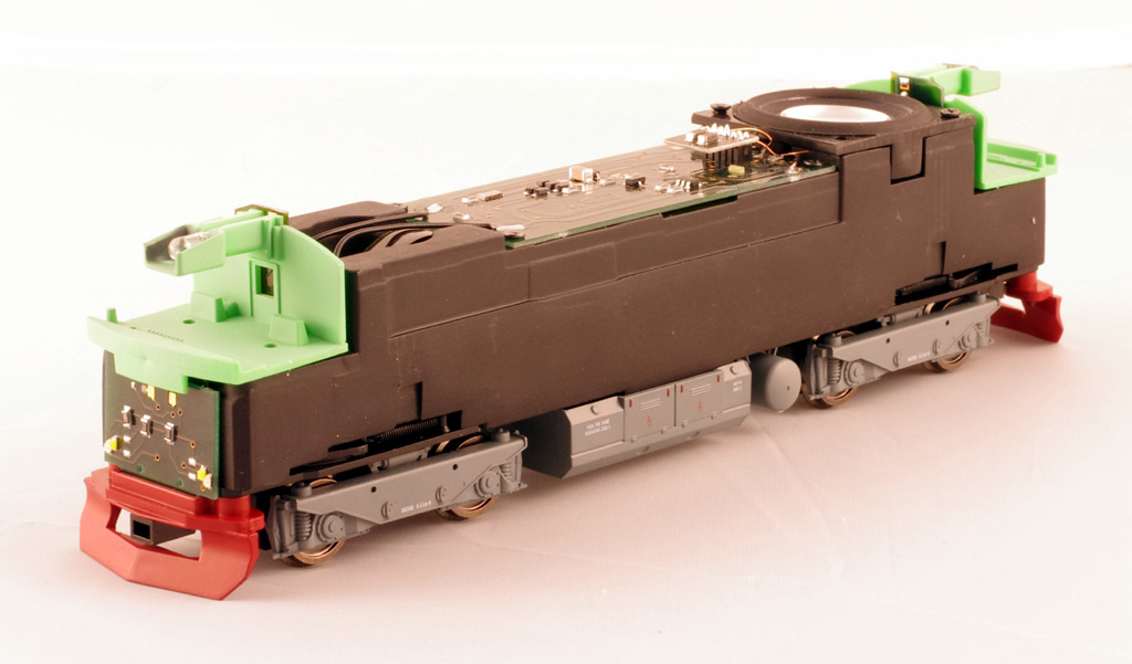 Model lokomotivy Bardotka